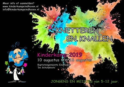 Poster Kinderkamp 2019